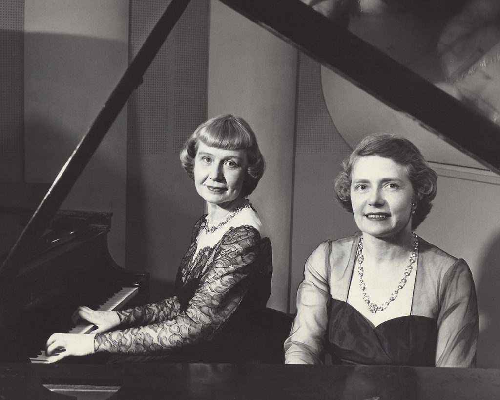 hoff-barthelson music school founders virginia hoff and joyce barthelson